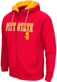 Pitt State Gorillas Colosseum Classic Full Zip Jacket - Red