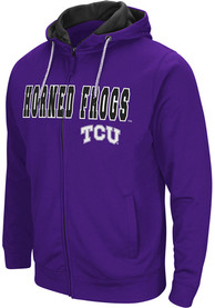 TCU Horned Frogs Colosseum Classic Full Zip Jacket - Purple