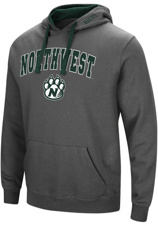 Colosseum Northwest Missouri State Bearcats Mens Grey Manning Hoodie