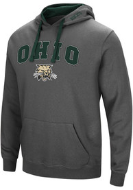Ohio Bobcats Colosseum Manning Hooded Sweatshirt - Charcoal