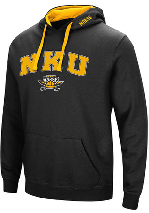 Colosseum Northern Kentucky Norse Mens Black Rush Hoodie