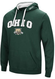 Ohio Bobcats Colosseum Rush Hooded Sweatshirt - Green