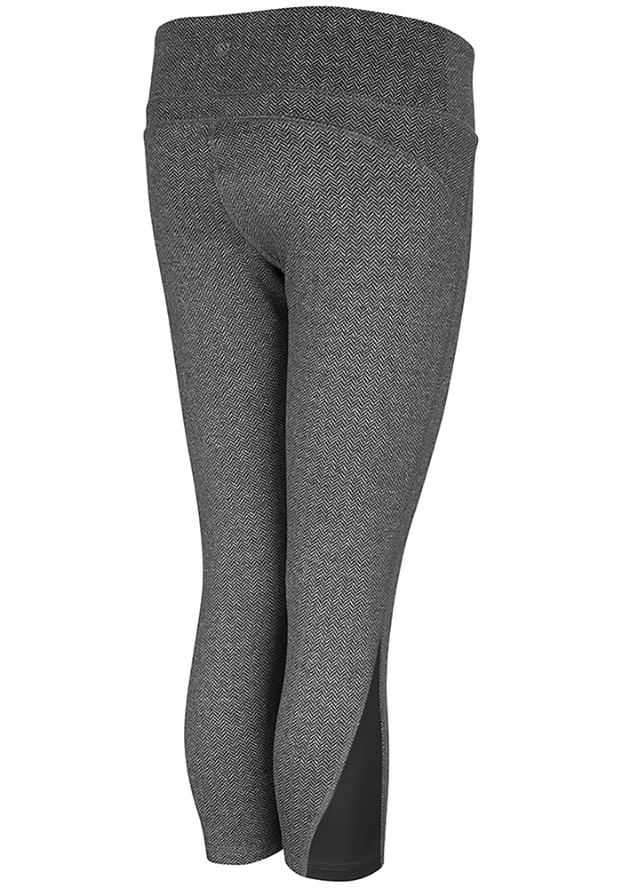 Colosseum Michigan State Spartans Womens Charcoal High Jump Pants - Image 2