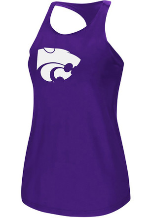 Colosseum K-State Wildcats Womens Purple Preliminary Tank Top