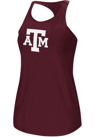 Texas A&M Aggies Womens Colosseum Preliminary Tank Top - Maroon