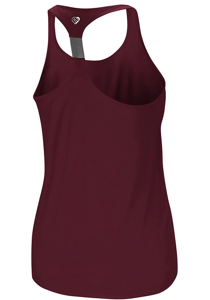 Colosseum Texas A&M Aggies Womens Maroon Preliminary Tank Top - Image 2