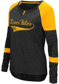 Colosseum Missouri Western Griffons Womens Routine Scoop Neck Tee