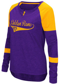 Colosseum West Chester Golden Rams Womens Routine Scoop Neck Tee
