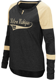 Colosseum Western Michigan Broncos Womens Routine Scoop Neck Tee
