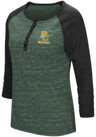 Colosseum Baylor Bears Womens Slopestyle Scoop Neck Tee