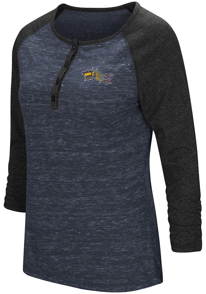 Colosseum Drexel Dragons Womens Slopestyle Scoop Neck Tee