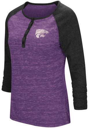 Colosseum K-State Wildcats Womens Slopestyle Scoop Neck Tee