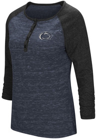 Colosseum Penn State Nittany Lions Womens Slopestyle Scoop Neck Tee