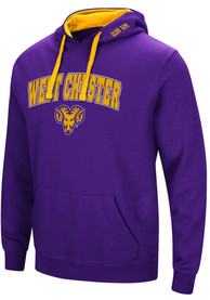 West Chester Golden Rams Colosseum Rush Hooded Sweatshirt - Purple