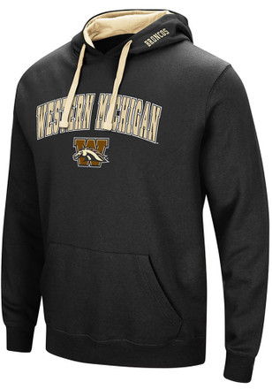 Colosseum Western Michigan Broncos Mens Black Rush Hoodie