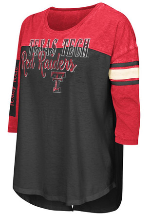 Colosseum Texas Tech Red Raiders Womens I'll Be There For You Red T-Shirt