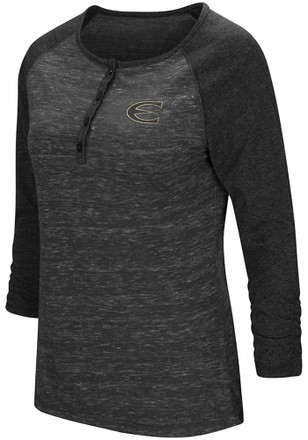Colosseum Emporia State Hornets Womens Slopestyle Scoop Neck Tee