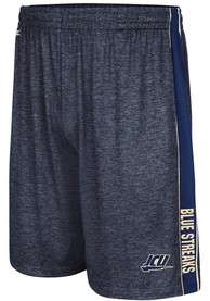 John Carroll Blue Streaks Colosseum Wicket Shorts - Black