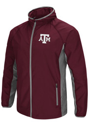 Colosseum Texas A&M Aggies Mens Maroon Archer Light Weight Jacket