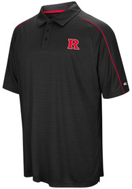 Colosseum Rutgers Scarlet Knights Mens Red Setter Short Sleeve Polo Shirt