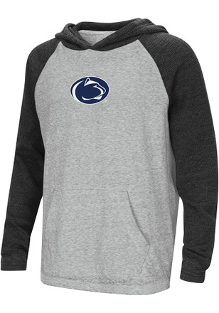 Colosseum Penn State Nittany Lions Kids Grey One-Eyed Hooded Sweatshirt