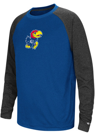 Colosseum Kansas Jayhawks Kids Blue Astoria T-Shirt