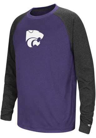 Colosseum K-State Wildcats Youth Purple Astoria T-Shirt