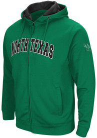 North Texas Mean Green Colosseum Classic Full Zip Jacket - Green