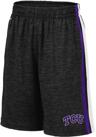 TCU Horned Frogs Youth Colosseum Mendoza Shorts - Black