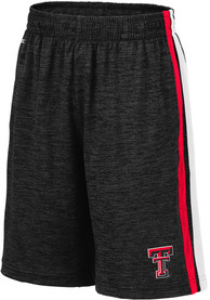 Texas Tech Red Raiders Youth Colosseum Mendoza Shorts - Black