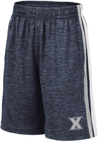 Xavier Musketeers Youth Colosseum Mendoza Shorts - Navy Blue