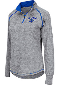 Grand Valley State Lakers Womens Colosseum Athena 1/4 Zip - Grey
