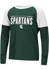 Michigan State Spartans Youth Colosseum Ollie T-Shirt - Green