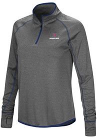 Duquesne Dukes Womens Colosseum Shark 1/4 Zip - Charcoal