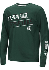 Michigan State Spartans Youth Colosseum Groomed T-Shirt - Green
