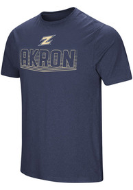Akron Zips Colosseum Electricity T Shirt - Navy Blue
