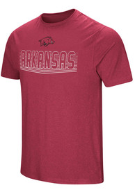Colosseum Arkansas Razorbacks Cardinal ELECTRICITY Tee