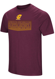 Colosseum Central Michigan Chippewas Maroon ELECTRICITY Tee
