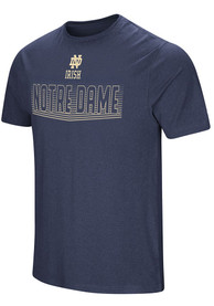 Colosseum Notre Dame Fighting Irish Navy Blue ELECTRICITY Tee