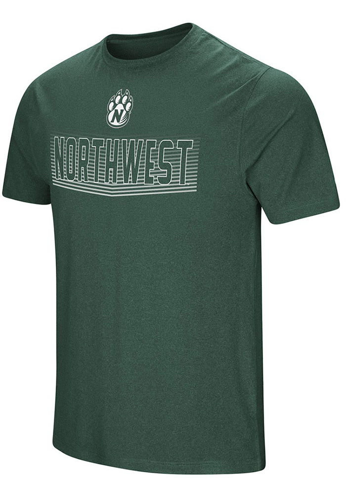 Colosseum Northwest Missouri State Bearcats Green ELECTRICITY Tee