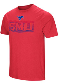 Colosseum SMU Mustangs Red ELECTRICITY Tee