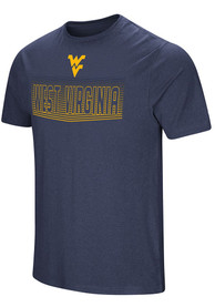 Colosseum West Virginia Mountaineers Navy Blue ELECTRICITY Tee