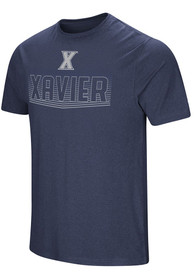 Colosseum Xavier Musketeers Navy Blue ELECTRICITY Tee