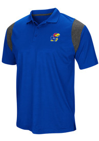 Kansas Jayhawks Colosseum Friend Polo Shirt - Blue