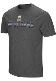 Notre Dame Fighting Irish Colosseum Medula Oblongata T Shirt - Charcoal