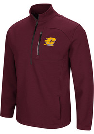 Central Michigan Chippewas Colosseum Townie 1/4 Zip Pullover - Maroon