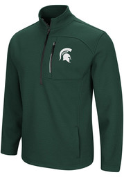 Michigan State Spartans Colosseum Townie 1/4 Zip Pullover - Green