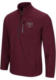 Missouri State Bears Colosseum Townie 1/4 Zip Pullover - Maroon