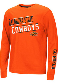 Oklahoma State Cowboys Youth Colosseum Groomed T-Shirt - Orange