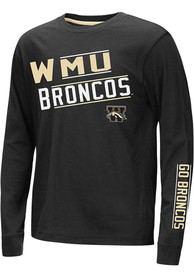 Western Michigan Broncos Youth Colosseum Groomed T-Shirt - Black